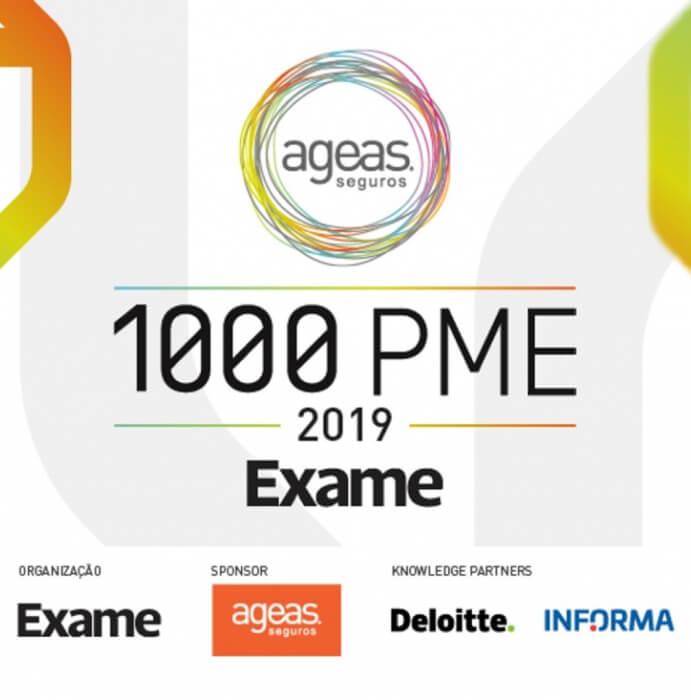 1000 PME 2019 na Revista EXAME
